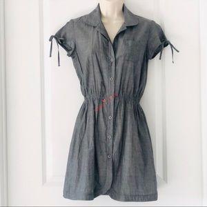 Willow & Clay Shirt Dress, Cap Sleeves, XS
